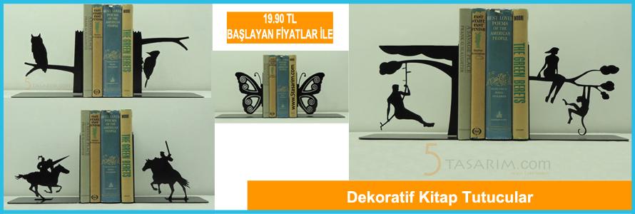 dekoratif kitap tutucular ve fiyatları